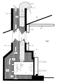 Patent US20060162362 - In-fireplace room air conditioner ...