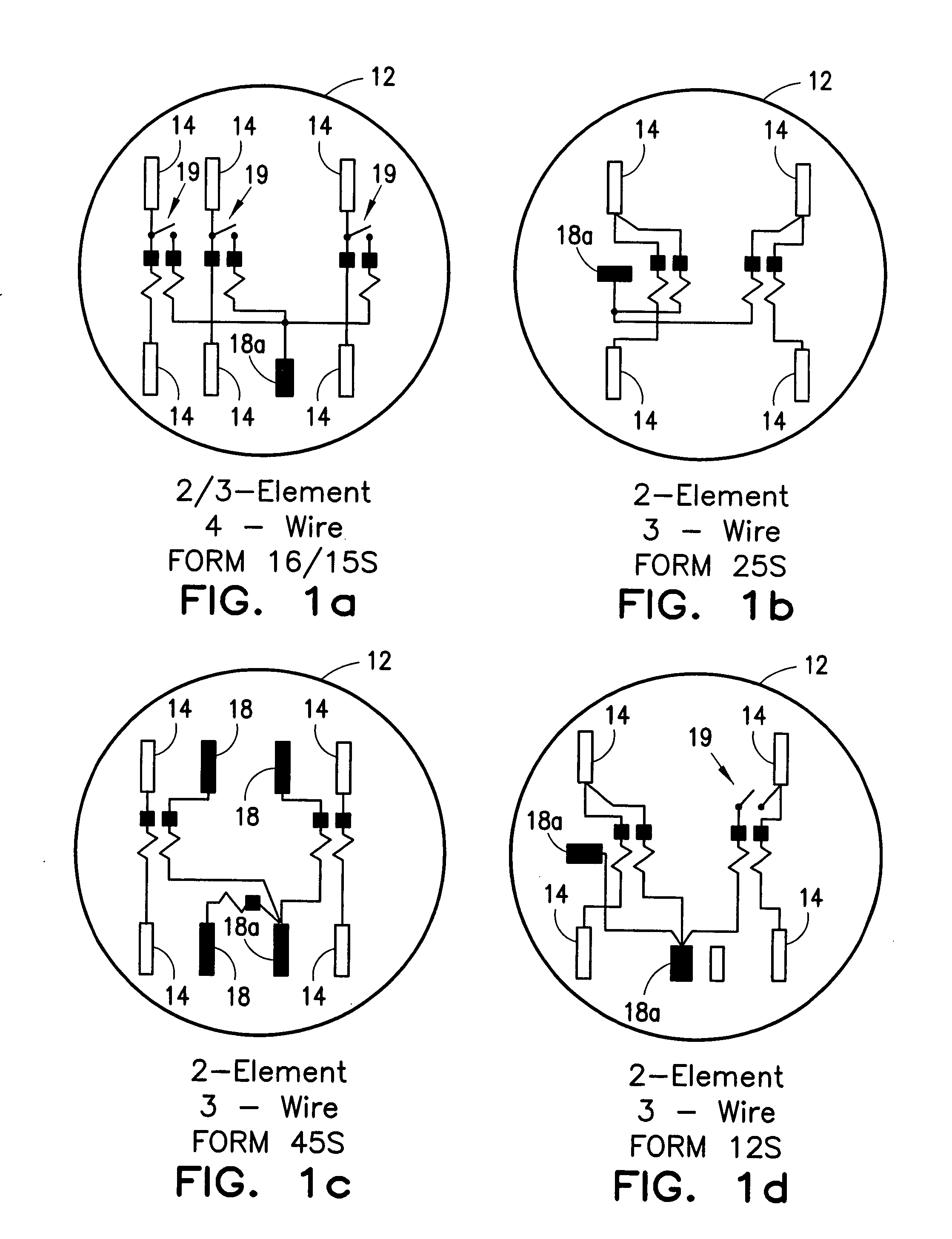 Electric Meter Forms Diagrams