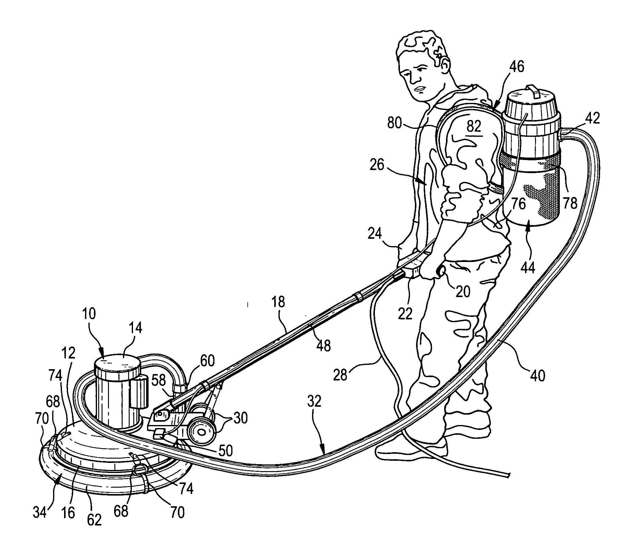 Floor Vacuum: Floor Buffer Vacuum Attachment