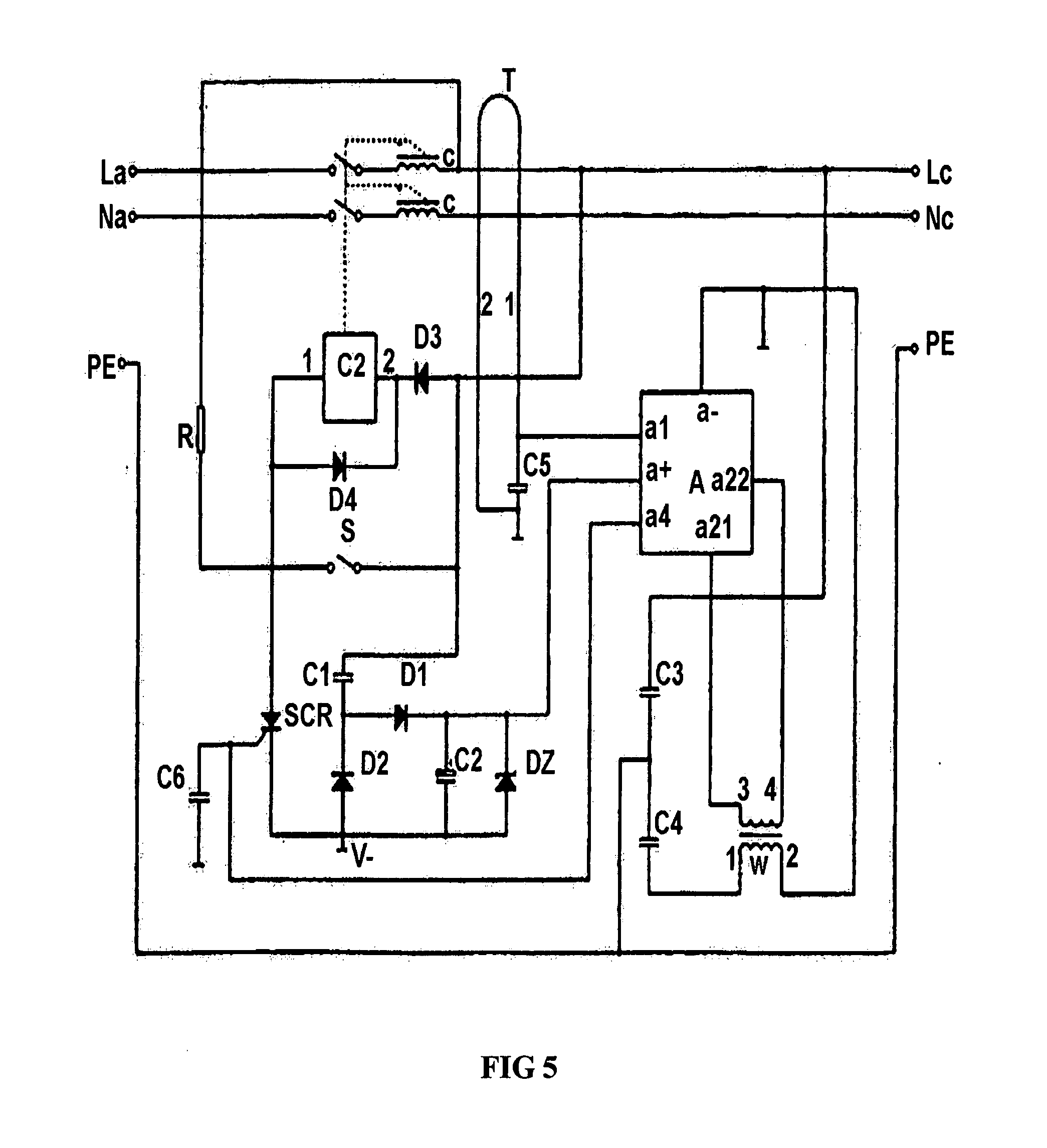 Patent US20070215576 Electric Shock Prevention Residual Current