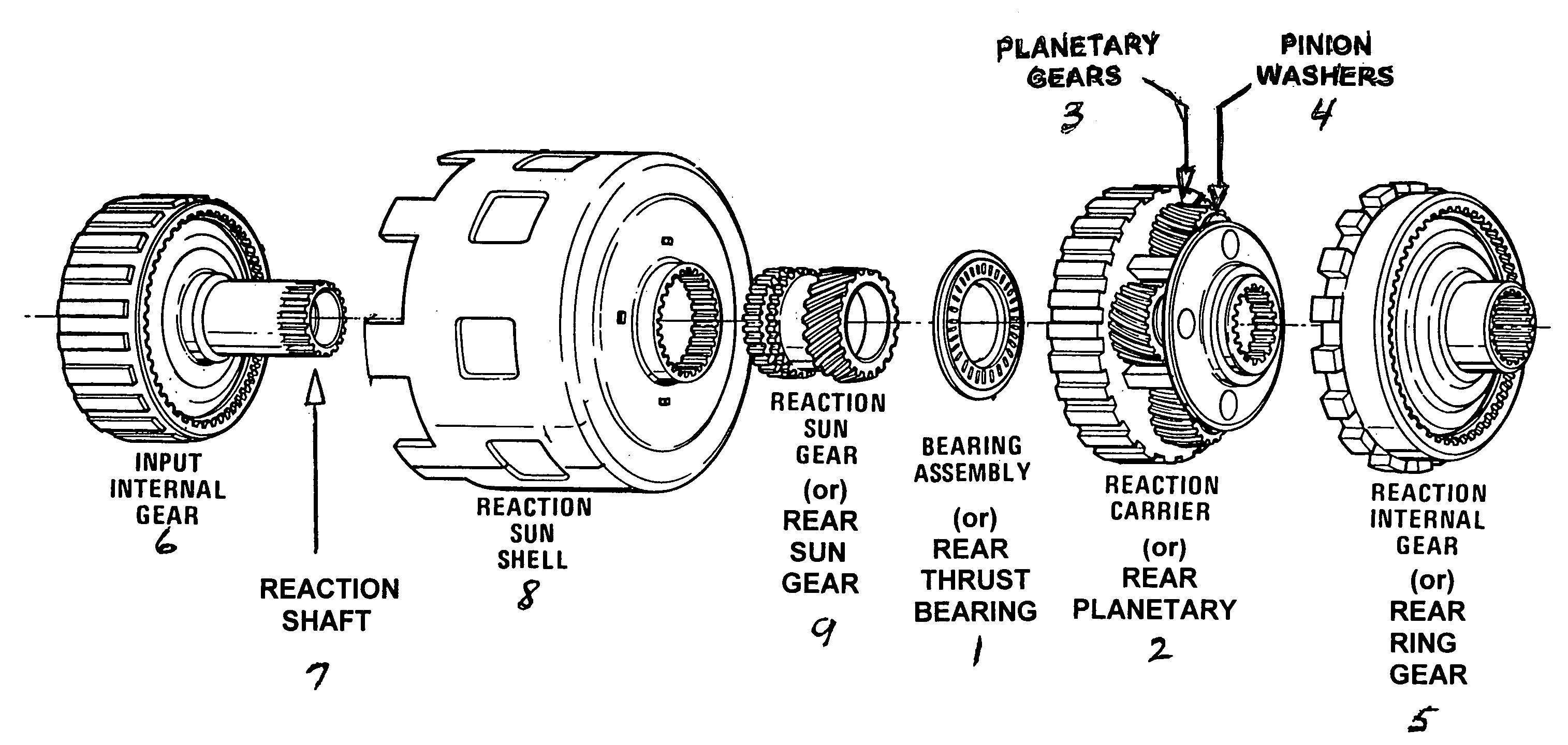 4l60e automatic transmission diagram