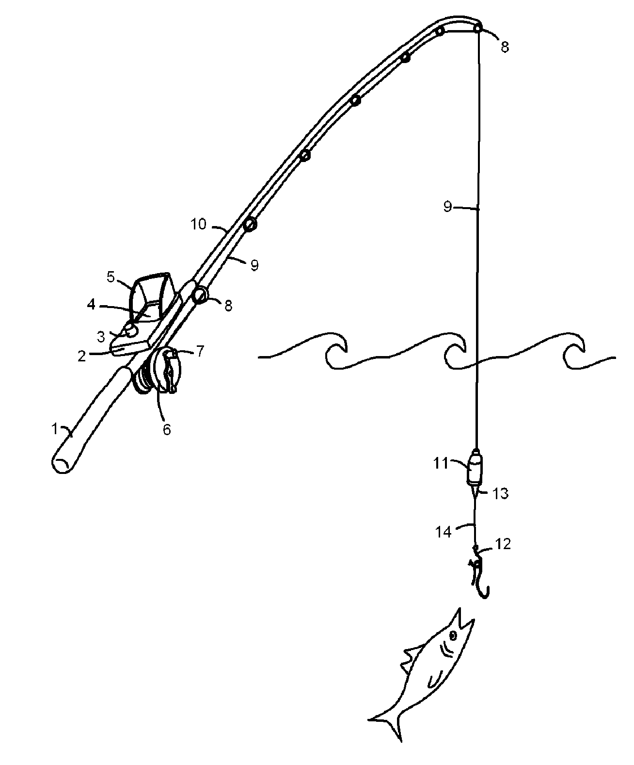 hight resolution of fishing rod and reel diagram photo 5