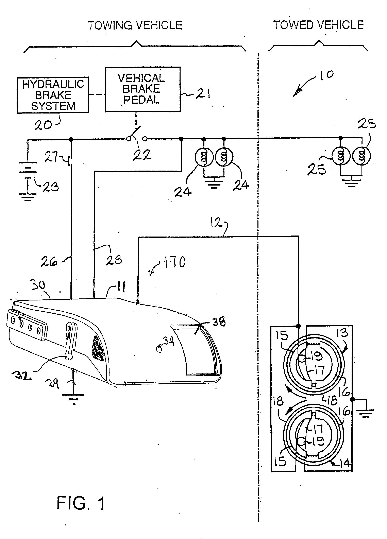 reese pod brake controller wiring diagram feline skeleton control