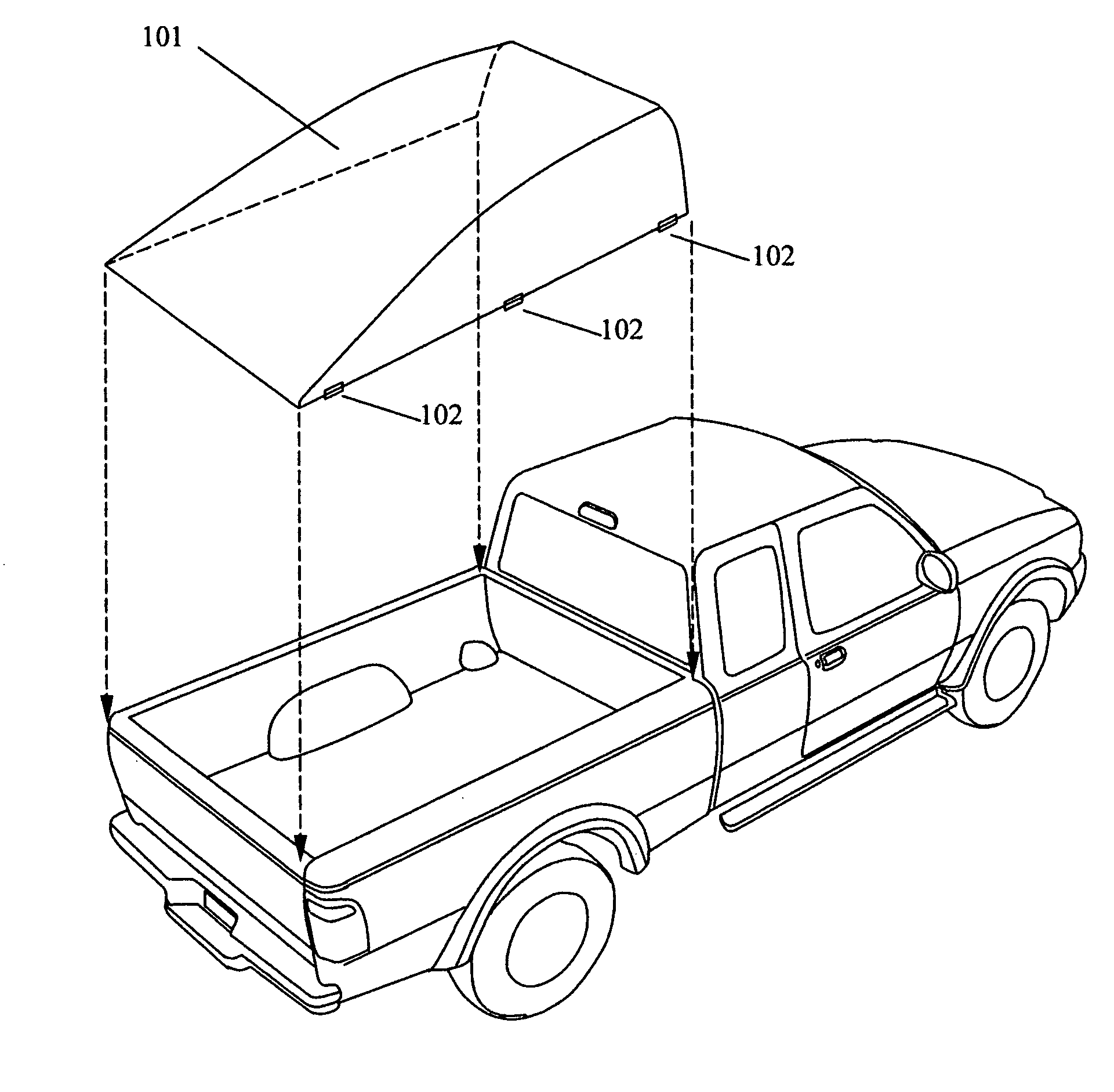 72 Chevy Truck Mirror