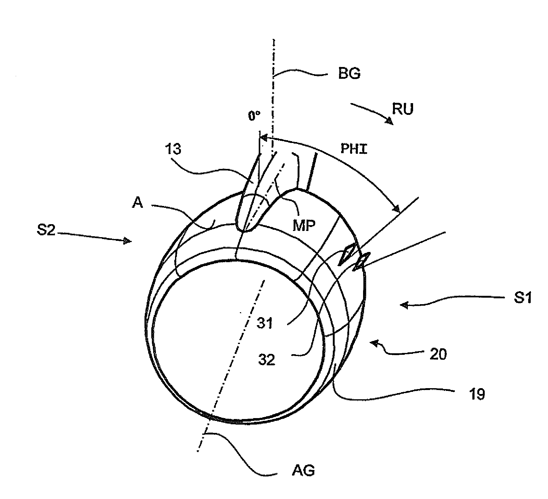 Patent us20100176249 engine nacelle of an aircraft prising a