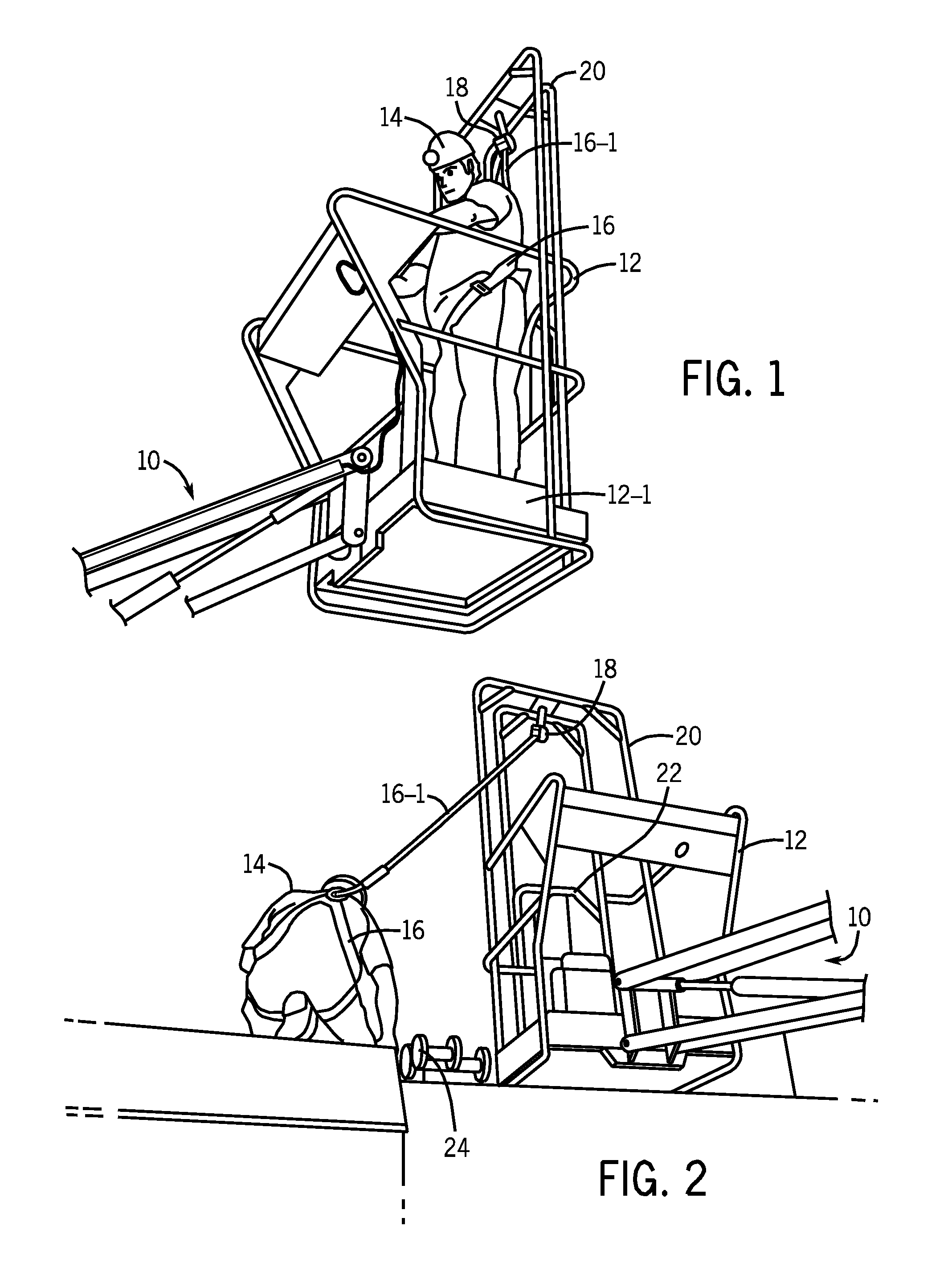 High Lift Harness Systems