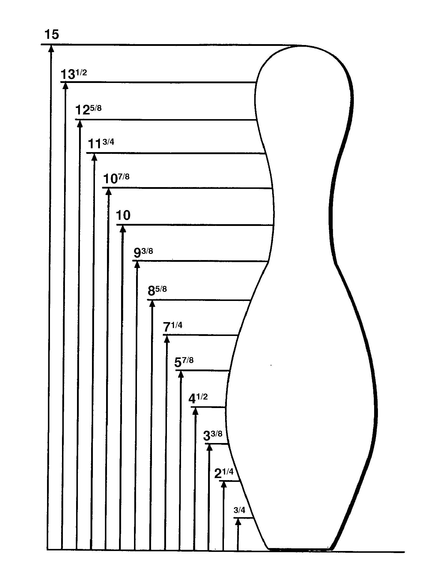 bowling lane dimensions diagram marine batteries patent us20110244974 pin and method of