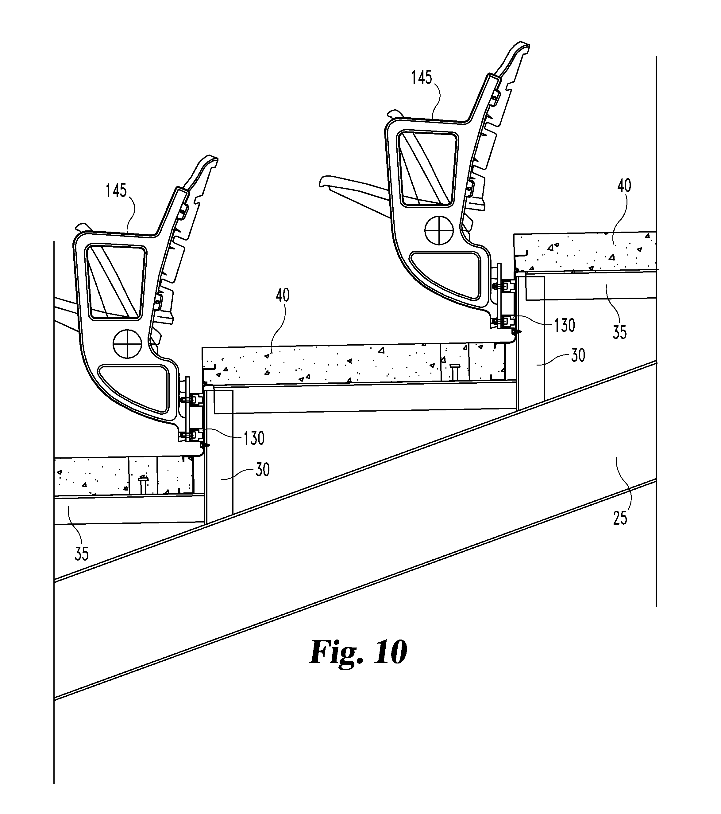 theater chair cad block lift recliner repair patent us20110277390 stadium seating construction
