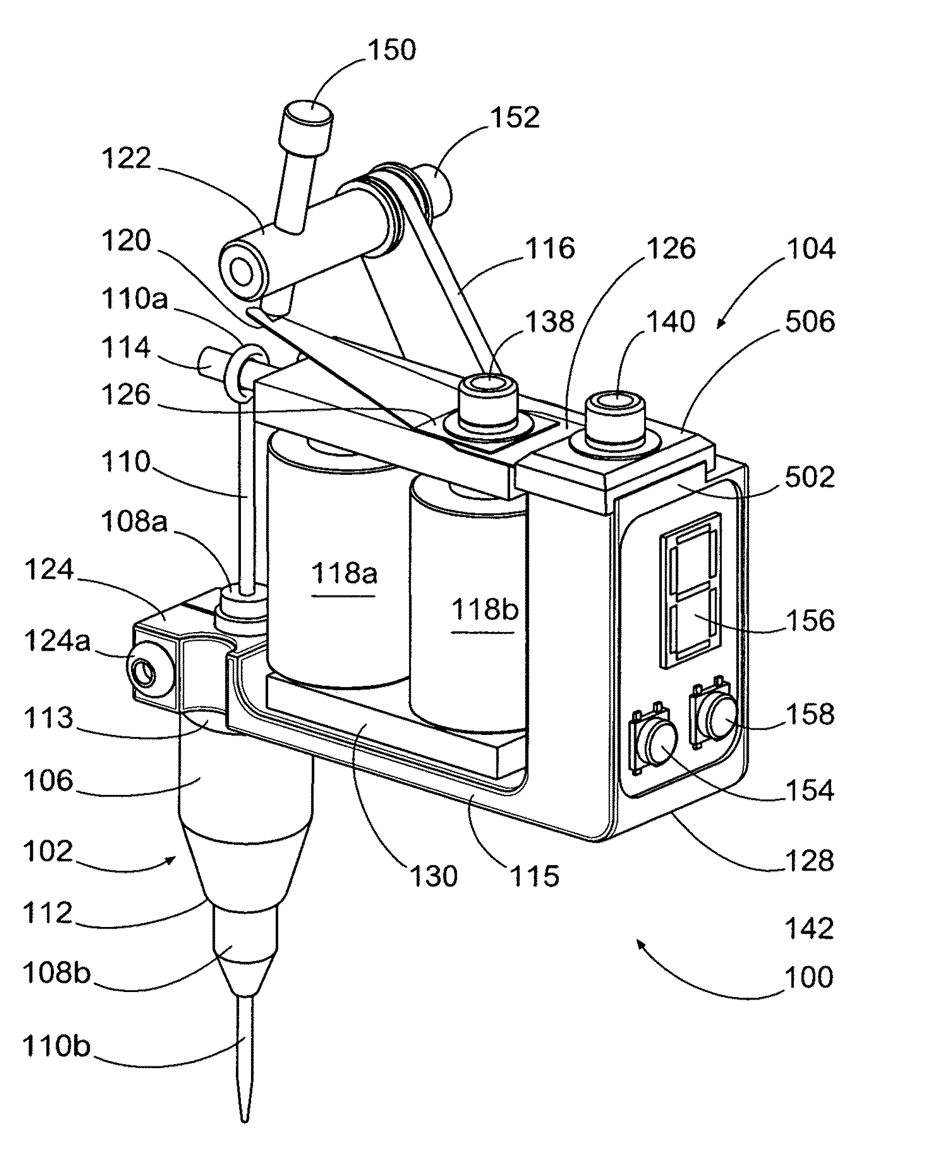 tattoo machine power supply wiring diagram