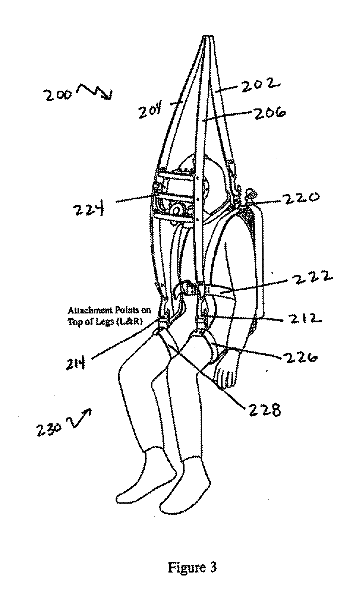 safety harness storage