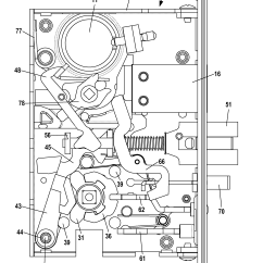 Mortise Lock Parts Diagram Sportster Wiring Patent Us20120013135 Latchset With Dually Biased