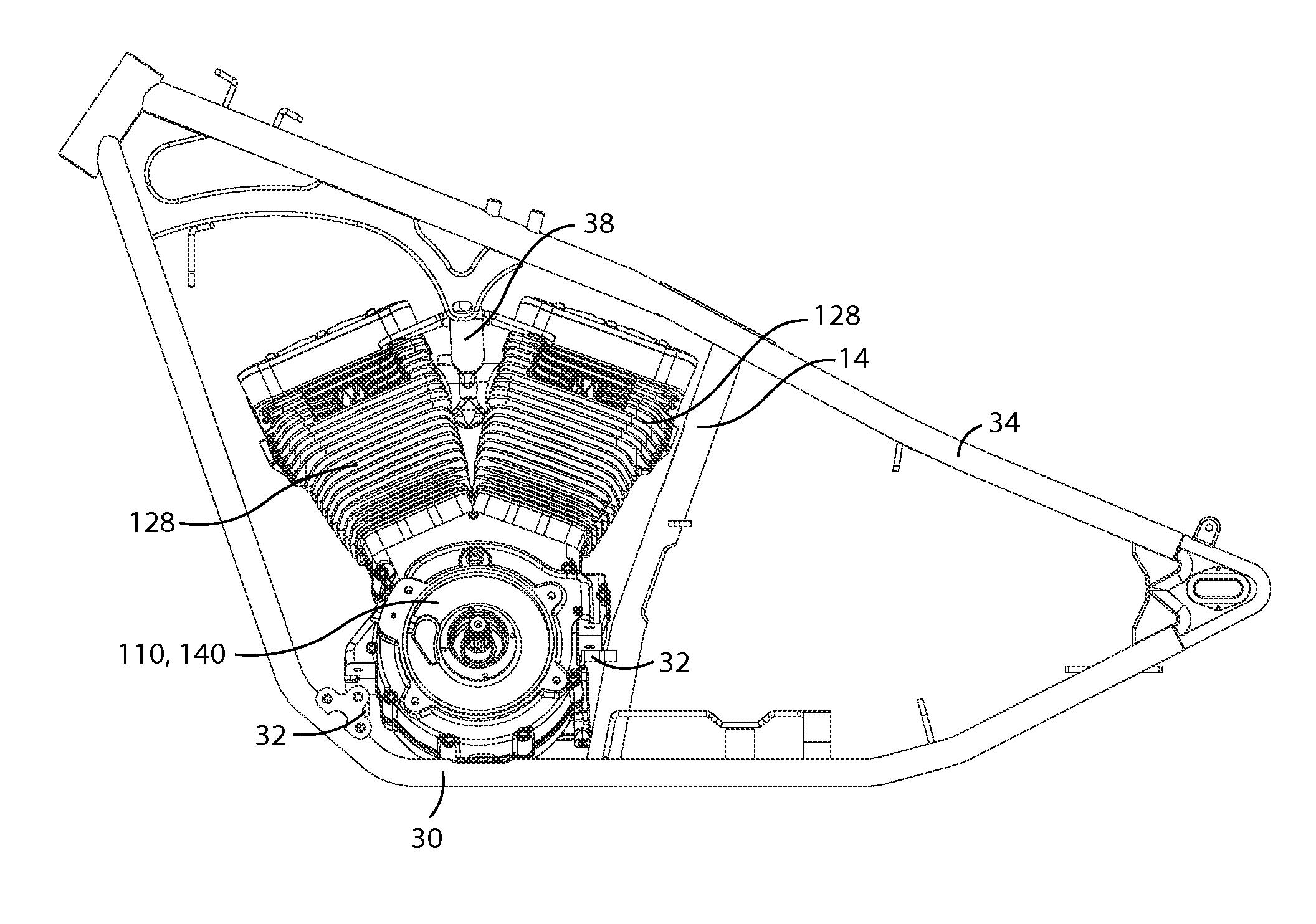 W8 Engine Compartment Diagram
