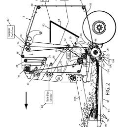 baler google patents on 424 international tractor hydraulics diagram [ 2164 x 2856 Pixel ]