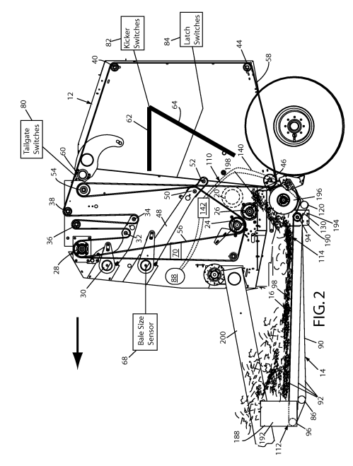 small resolution of baler google patents on 424 international tractor hydraulics diagram