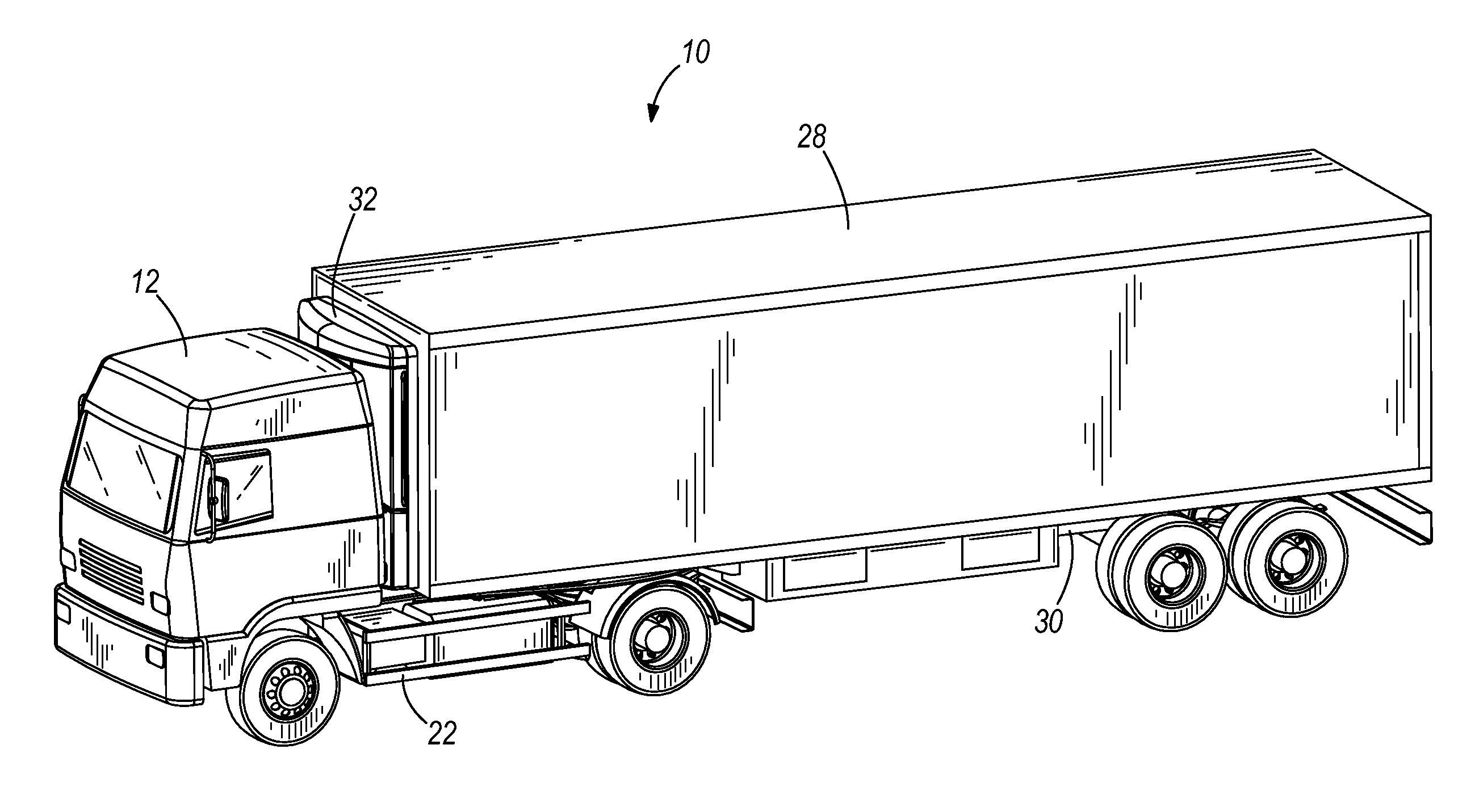 Tractor Trailer Truck Drawings Sketch Coloring Page