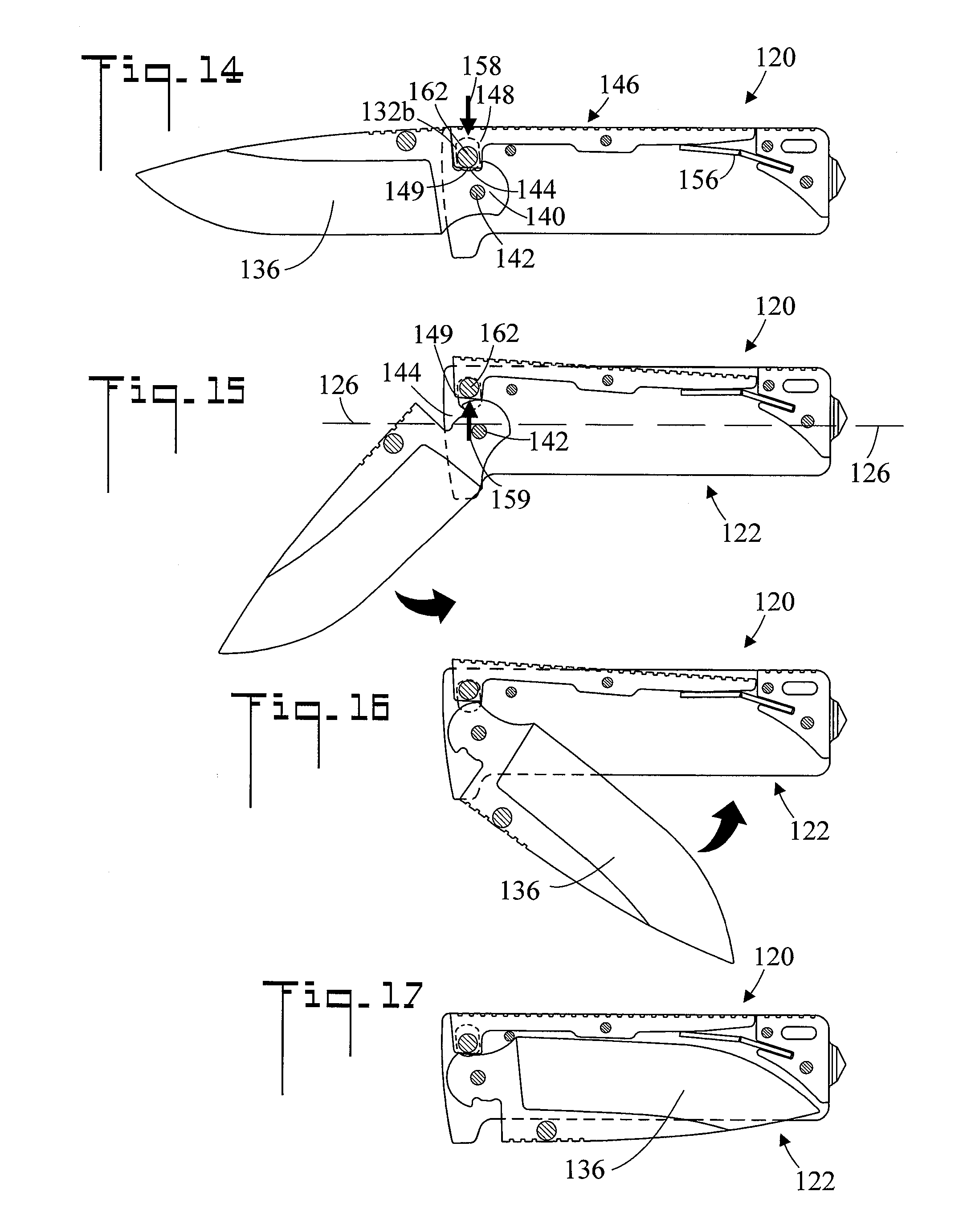 parts of a pocket knife diagram generator automatic transfer switch wiring patent us20130000129 locking mechanism for folding