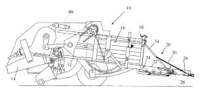 Patent US20130042770  Square Baler and a Related Control
