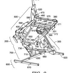 Revolving Chair Spare Parts How Much Does A Stair Lift Cost Patent Us20130175847 Linkage Mechanism For Dual Motor