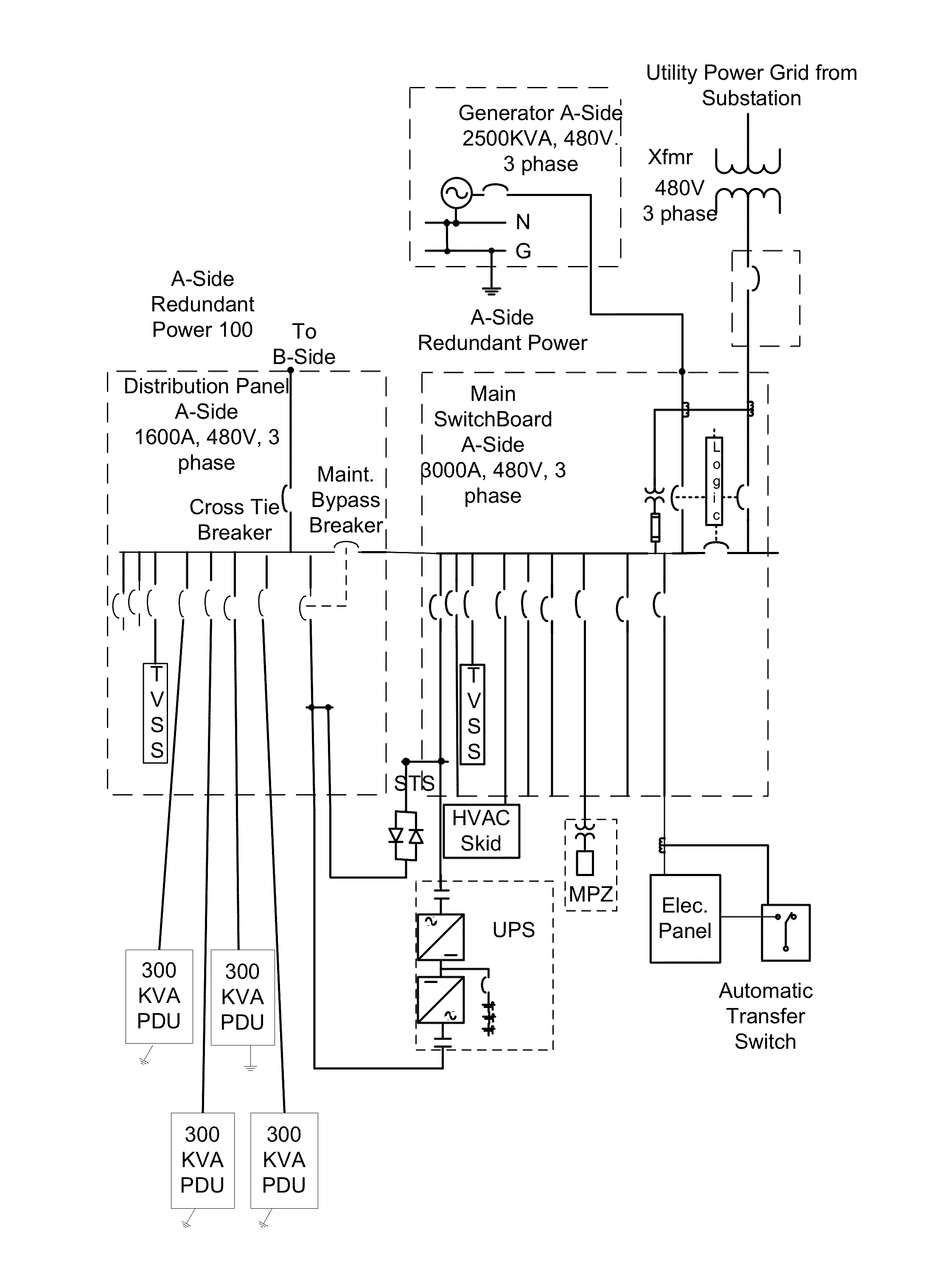 ups bypass wiring diagram