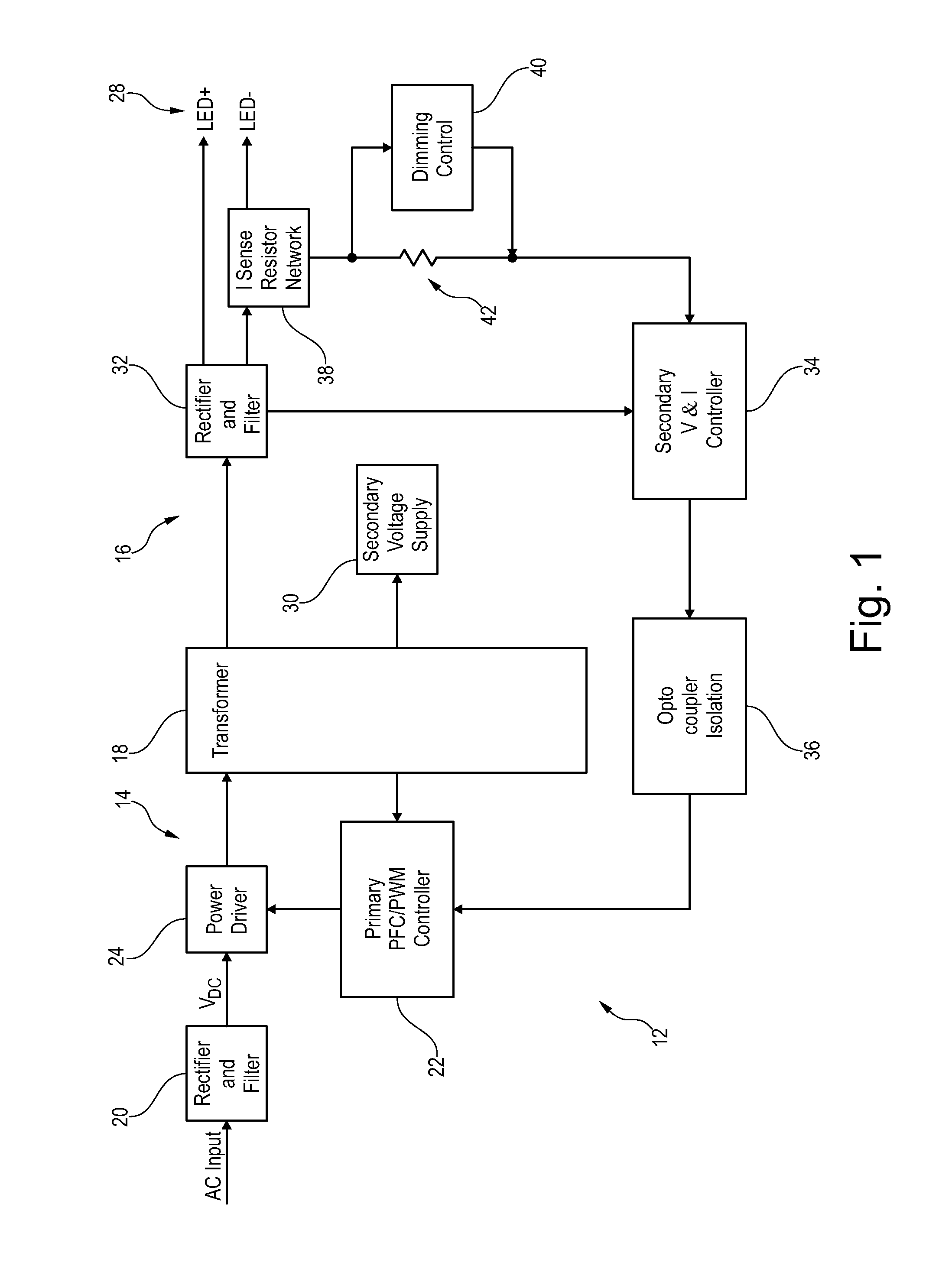 Schematic Diagram Led Dimmer