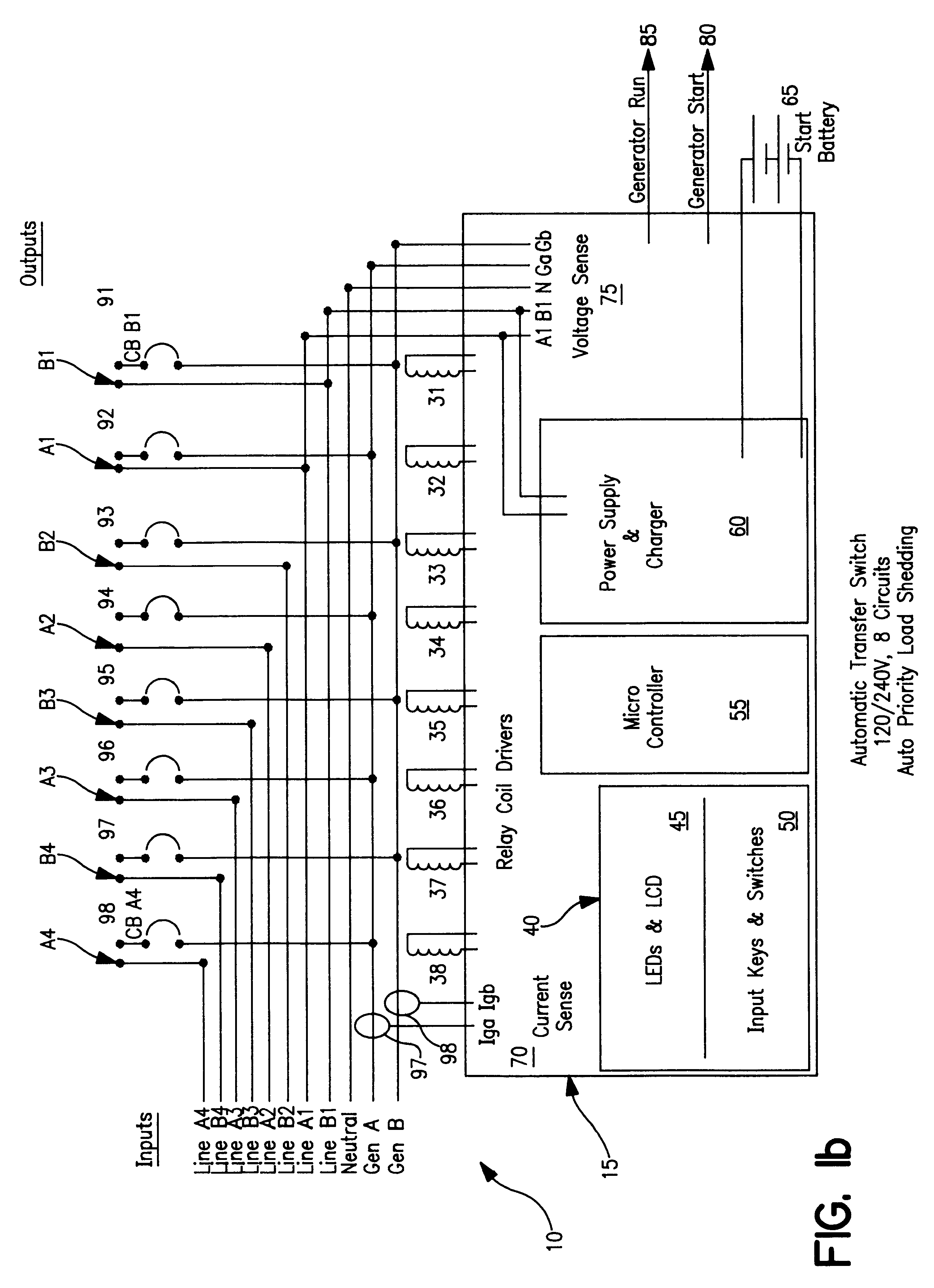 automatic transfer switch wiring diagram 2003 nissan sentra ignition patent us6172432 google patents