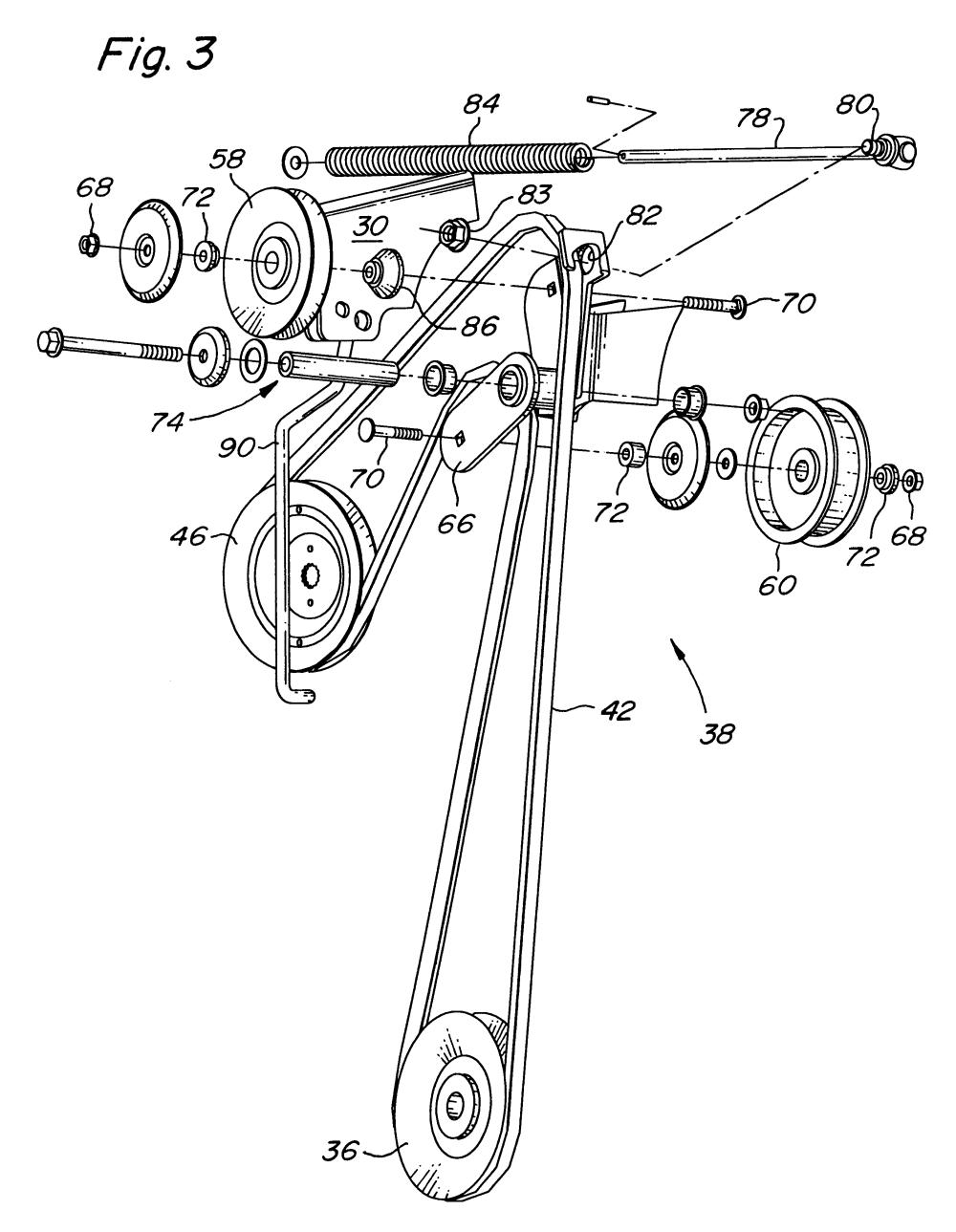 medium resolution of idler pulley diagram lt133 idler free engine image for lt133 belt installation lt133 belt routing