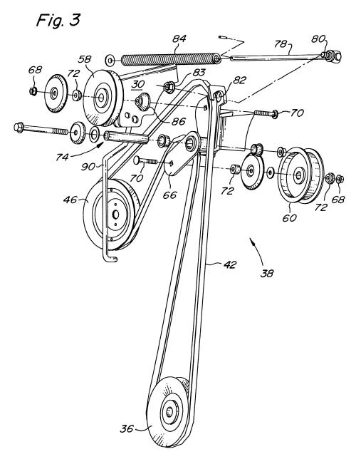 small resolution of idler pulley diagram lt133 idler free engine image for lt133 belt installation lt133 belt routing