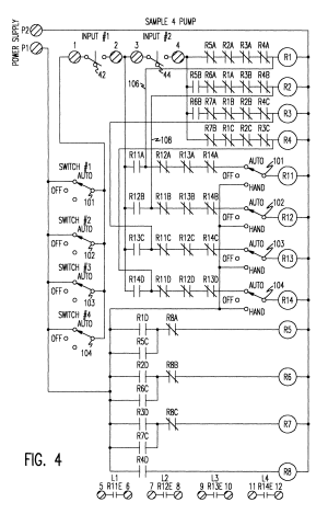 Patent US6186743  Multiple pump sequencing controller