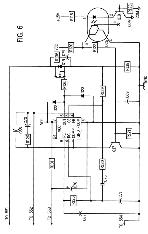small resolution of us06194682 20010227 d00005 patent us6194682 plasma cutter with integrated air compressor plasma cutter circuit diagram at
