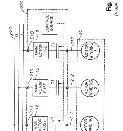 patent us6208111 motor starter arrangement with soft start cutler hammer starter wiring diagram cutler hammer starter [ 2286 x 3046 Pixel ]