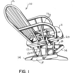 Glider Chair Parts Replacement Bulk Order Office Chairs Rocking Zelfaanhetwerk