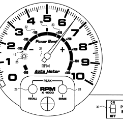 Rpm Tachometer Wiring Diagram Australian Phone Connection Patent Us6215298 Dual Range Google Patents