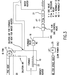 us06216685 20010417 d00003 patente us6216685 common venting of water heater and induced at gas water heater vented with fields power vent wiring diagram  [ 2641 x 3961 Pixel ]