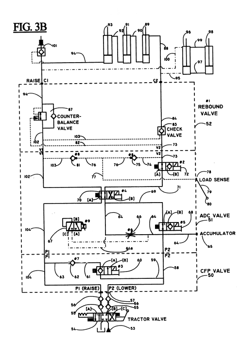 small resolution of us06216794 20010417 d00004 patent us6216794 joystick control for an automatic depth control john john deere 2940 instrument wiring harness