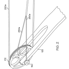 Archery Bow Diagram Human Skeleton Worksheet Patent Us6237582 With String Coplanar