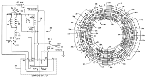 Patent US6255755  Single phase three speed motor with shared windings  Google Patents