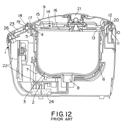 Electrical Wiring Diagram Of Rice Cooker Alpine Ktp 445 2 Patent Us6281483 Google Patents