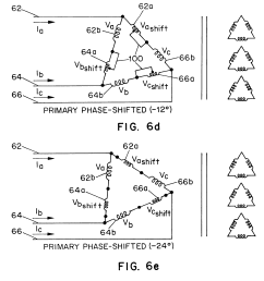us06340851 20020122 d00006 patent us6340851 modular transformer arrangement for use with delta to delta to wye transformer wiring diagram 39  [ 2676 x 2776 Pixel ]