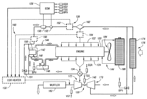 Patent US6367256  Exhaust gas recirculation with condensation control  Google Patents