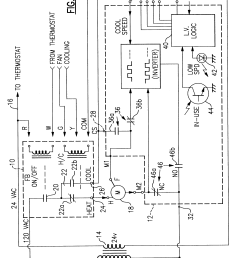 patent us6369544 furnace and air conditioner blower charging nordyne package unit nordyne heat pump thermostat wiring [ 2724 x 3872 Pixel ]