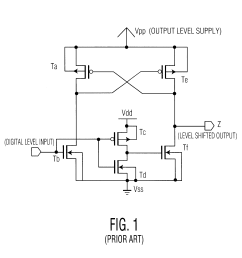 patent us6407579 fast high voltage level shifter with gate oxide fuel level sensor wiring diagram  [ 2424 x 2330 Pixel ]