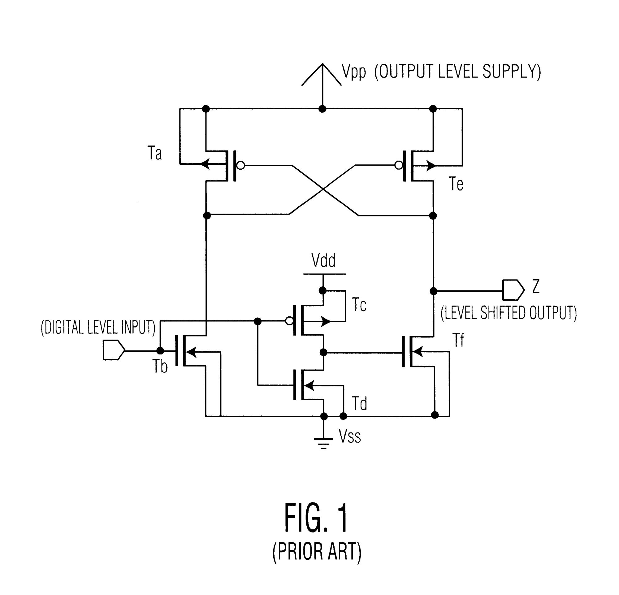 hight resolution of patent us6407579 fast high voltage level shifter with gate oxide fuel level sensor wiring diagram