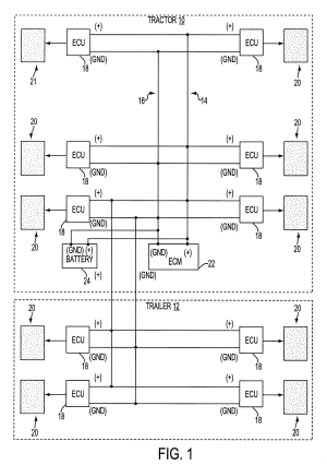 Patent US6412880  Combined power supply and electronic