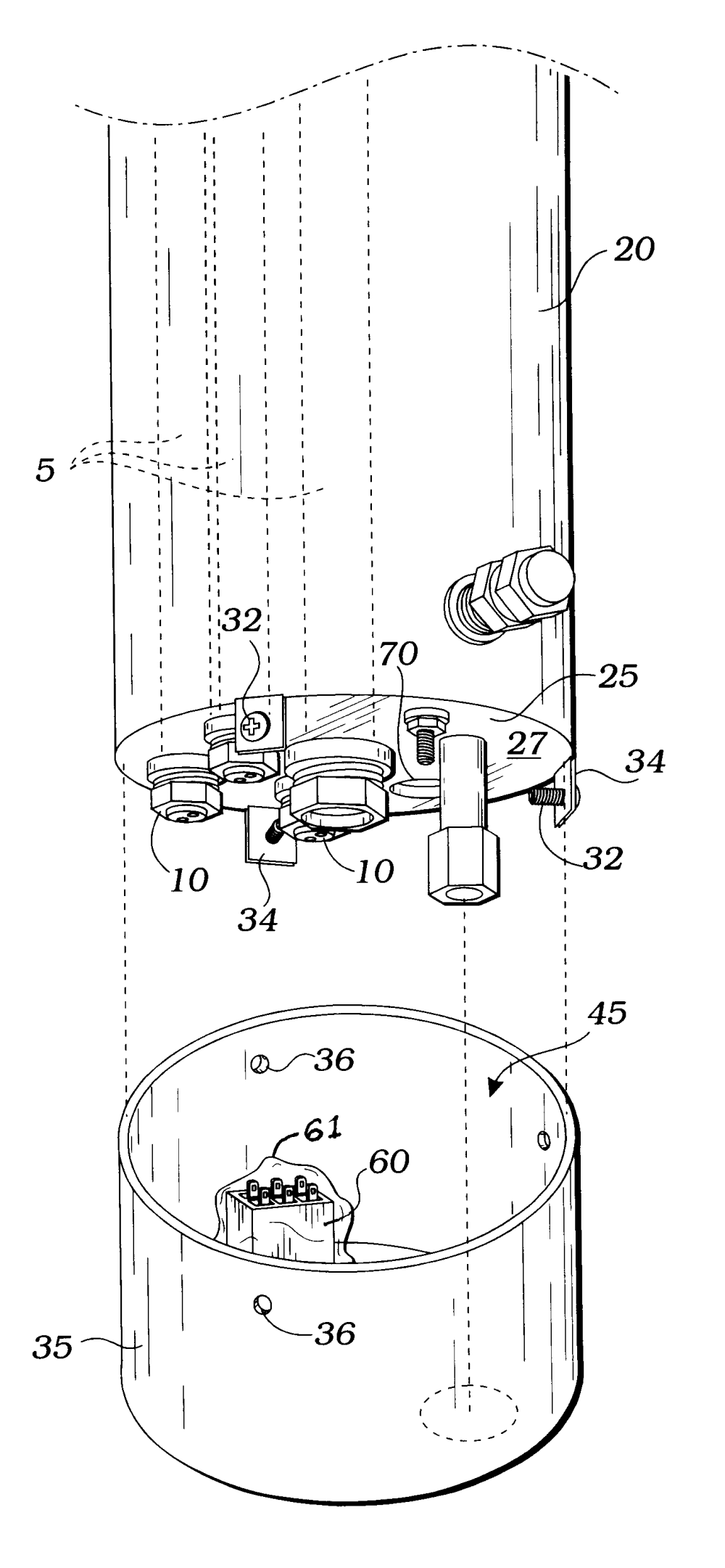 medium resolution of cylindrical water heater with top and on wiring water heater element