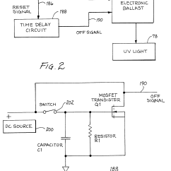 Thetford C250 Toilet Wiring Diagram Starter Motor Patent Us6461520 User Activated Ultra Violet Water
