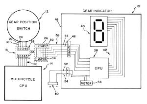 Patent US6462651  Gear indicator  Google Patents