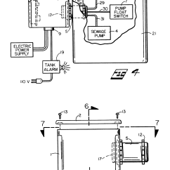 Septic Pump Alarm Wiring Diagram Bath Fan Light Heater Patent Us6462666 Housing And Electric Connection Panel