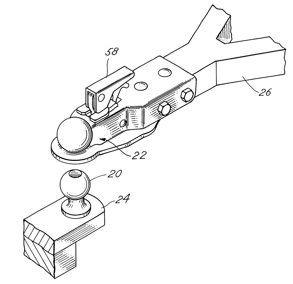 medium resolution of brevet us6481740 ball and socket trailer hitch assembly google brevets