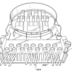 13 Terminal Meter Socket Wiring Diagram 1996 Nissan Maxima Bose Radio Patent Us6488535 Adapter With Connections