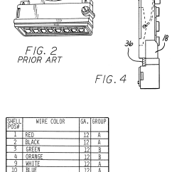 13 Terminal Meter Socket Wiring Diagram Cobalt Stereo Patent Us6488535 Adapter With Connections